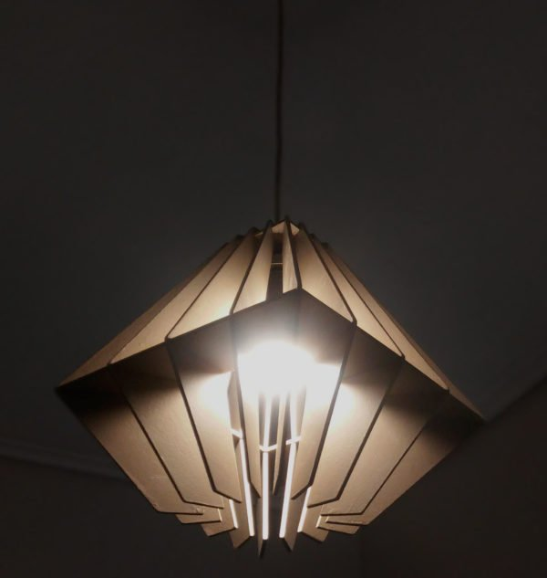 Ceiling lamp design and construction