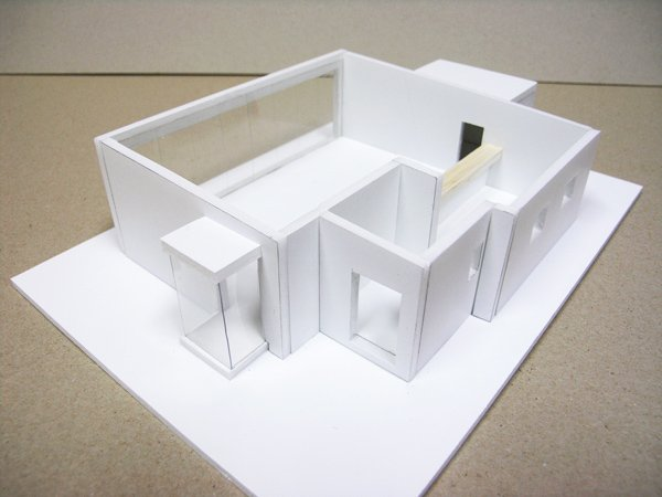 Refectory architectural model